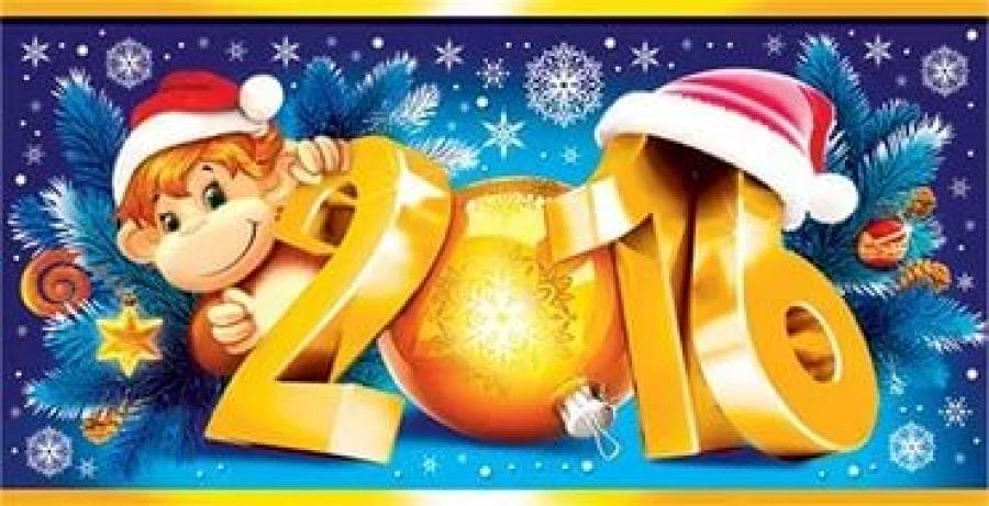 Прикольные фото поздравления с новым годом 2016
